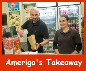 Amerigo's Takeaway in Ireland's Ancient East. On the Grand Canal Way.