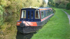 Live aboard in Daingean - On the Grand Canal Way