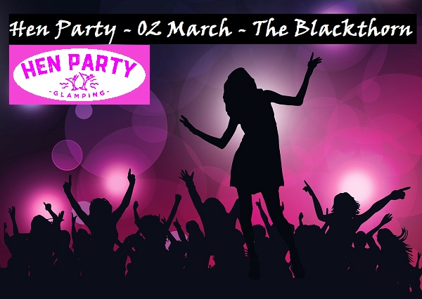 Hen Party in Daingean 02 March – The Blackthorn