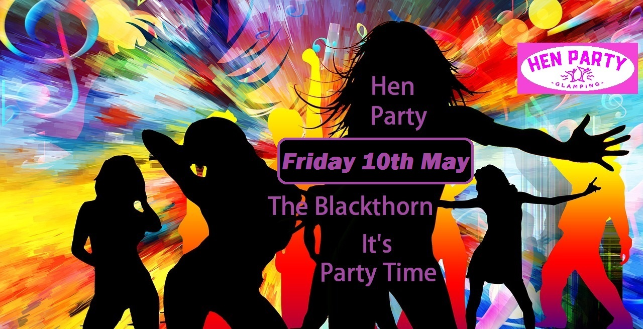 Hen Party in Daingean – Friday 10 May 2019 – The Blackthorn